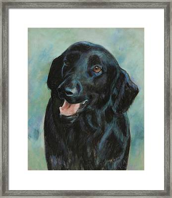 Framed Print featuring the pastel Sugar by Billie Colson