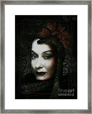 Framed Print featuring the digital art Sugar Buster by Delight Worthyn