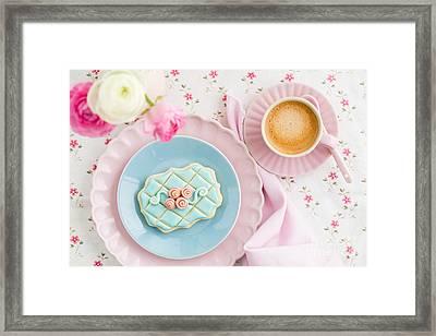 Sugar Cookie Framed Print by Elisabeth Coelfen
