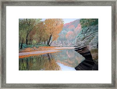 Sugar Creek Framed Print