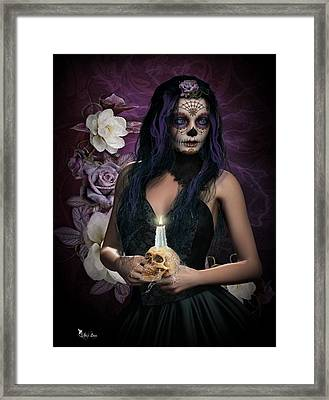 Sugar Doll Framed Print