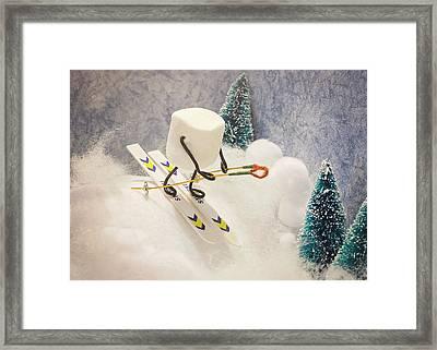 Sugar Hill Skier Framed Print