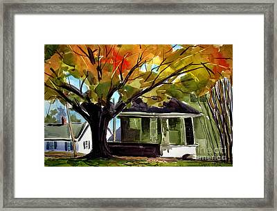 Sugar Maple Reds Framed Print by Charlie Spear