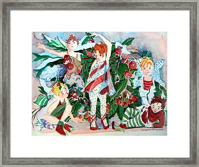 Sugar Plum Fairies Framed Print
