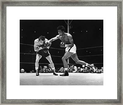 Sugar Ray Robinson Framed Print