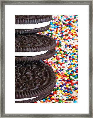 Sugar Rush Framed Print by Methune Hively