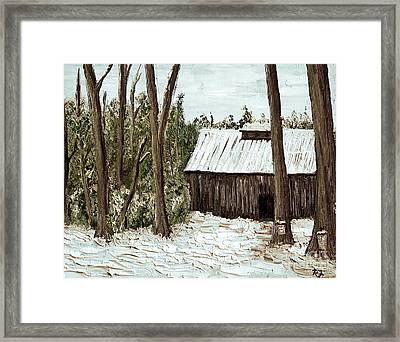 Sugar Shack Framed Print by Reb Frost