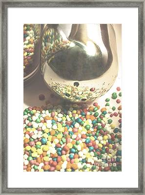 Sugar Sprinkle Framed Print by Jorgo Photography - Wall Art Gallery