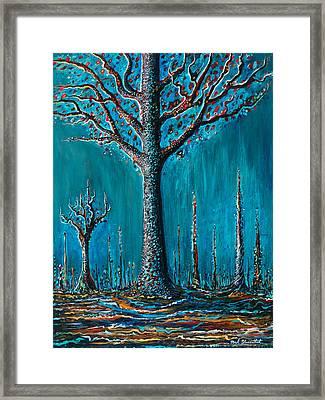 Sugar Tree Framed Print