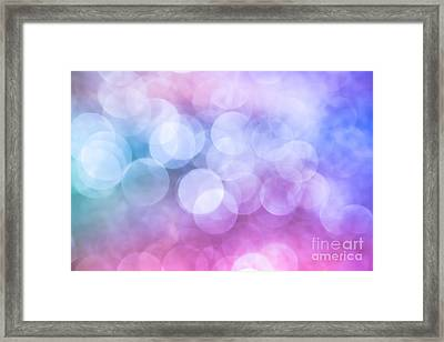 Framed Print featuring the photograph Sugared Almond by Jan Bickerton