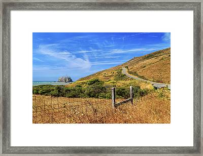 Framed Print featuring the photograph Sugarloaf Island On The Lost Coast by James Eddy