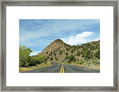 Framed Print featuring the photograph Sugarloaf Mountain In Six Mile Canyon by Benanne Stiens