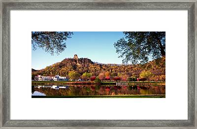 Sugarloaf Reflection Framed Print