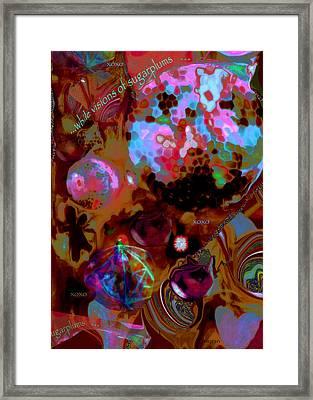 Sugarplums Framed Print