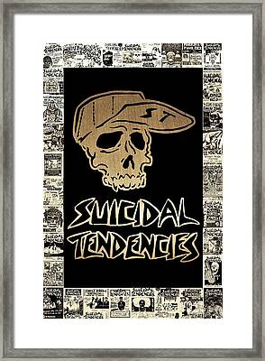Suicidal Tendencies 2 Framed Print by Michael Bergman