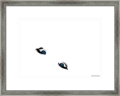 Suicide Eyes Framed Print