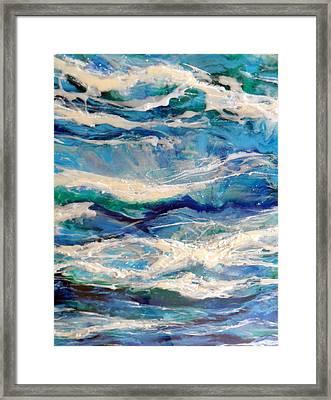 Suite Madam Blue 2 Framed Print by Jane Biven