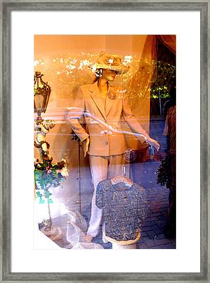 Suited For The Off Framed Print by Jez C Self