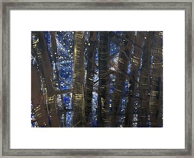 Sukkot II Stars 2015035  Framed Print