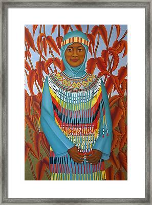 Sulawesi Girl Framed Print by Brian Leverton