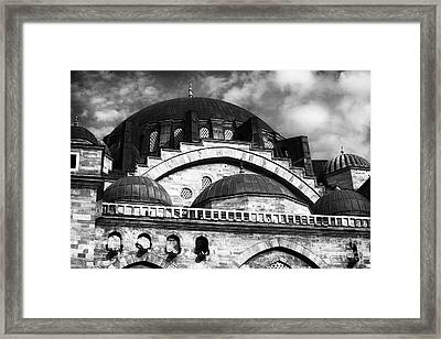 Suleymaniye  Framed Print by John Rizzuto