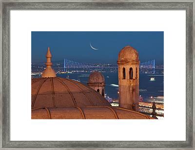 Suleymaniye Framed Print by Salvator Barki