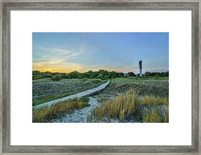 Sullivan's Island Evening Framed Print
