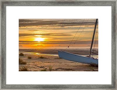 Sullivan's Island Sunrise Framed Print