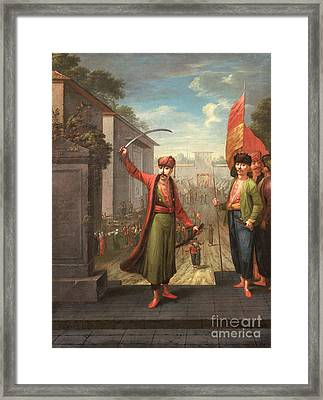Sultan Ahmed IIi With Mahmud I Framed Print by Celestial Images