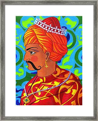 Sultan Framed Print by Jane Tattersfield