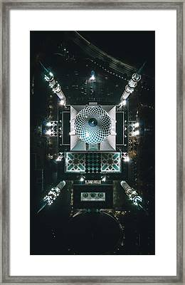 Sultan Mosque Framed Print