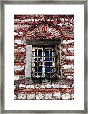 Sultan's Window Framed Print by John Rizzuto