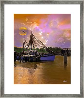Sultry Bayou Framed Print by J Griff Griffin