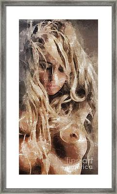 Sultry By Mary Bassett Framed Print by Mary Bassett
