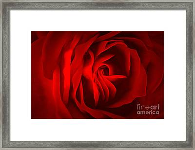 Sultry Mood Framed Print