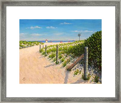 Summer 12-28-13 Framed Print