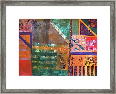 Summer Abstract Framed Print