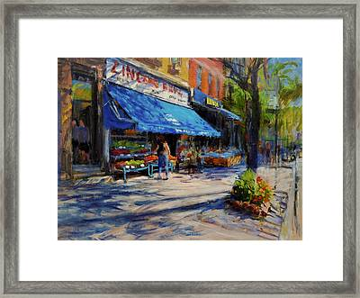 Summer Afternoon, Columbus Avenue Framed Print