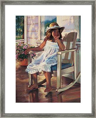 Summer Afternoon Framed Print by Jean Hildebrant