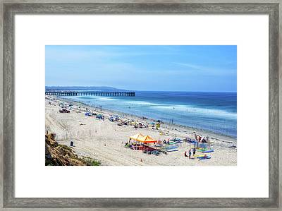 Summer Afternoon Framed Print by Joseph S Giacalone