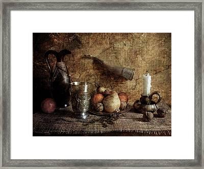 Summer Aroma Framed Print by larisa Fedotova