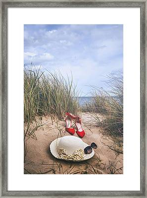 Summer At The Sea Framed Print