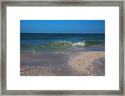 Framed Print featuring the photograph Summer At The Shore by Michiale Schneider