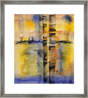 Summer Bamboo  Framed Print