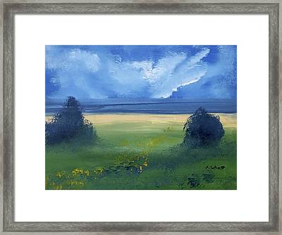 Summer Bay Framed Print