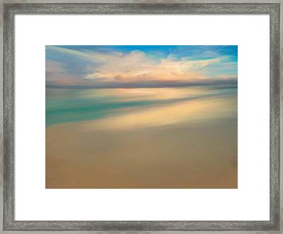 Summer Beach Day  Framed Print by Anthony Fishburne