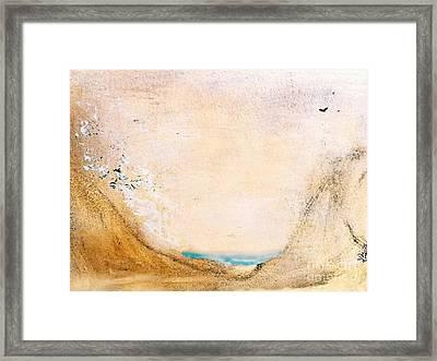 Summer Beach Framed Print by Sharon Eng