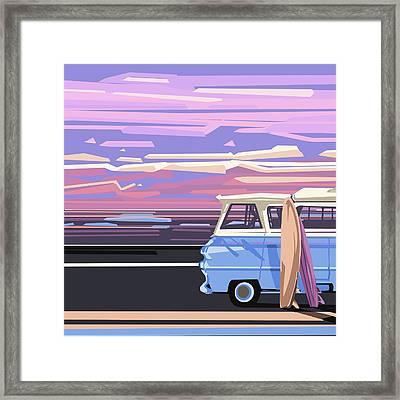 Summer Framed Print by Bekim Art