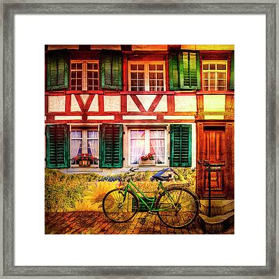Summer Bicycle Framed Print