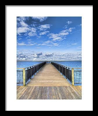 Lake Erie Framed Prints
